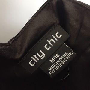 City Chic Dresses - NEW City Chic   Entwine Maxi Dress Black M/18